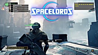 NEW! Free to Play Game You Must Try - Spacelords PS4 Pro Gameplay