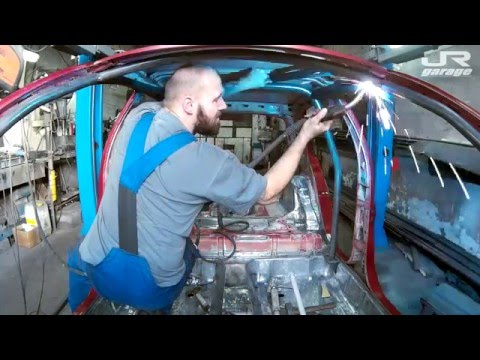 JR Garage | Making of Rollcage