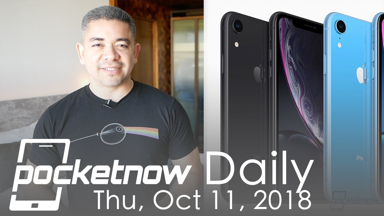 Big iPhone XR demand in China, Galaxy A9 with 4 rear cameras announced -  Pocketnow Daily