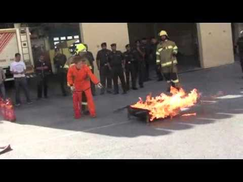 Badass firefighting videos