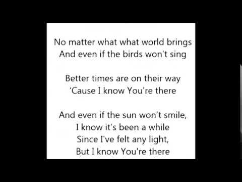 Raef You're There Lyrics