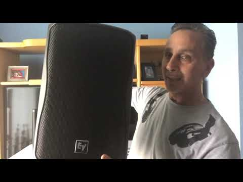 QSC CP8 Speaker Unboxing and demo review