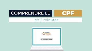 Comprendre le CPF - Compte Personnel de Formation
