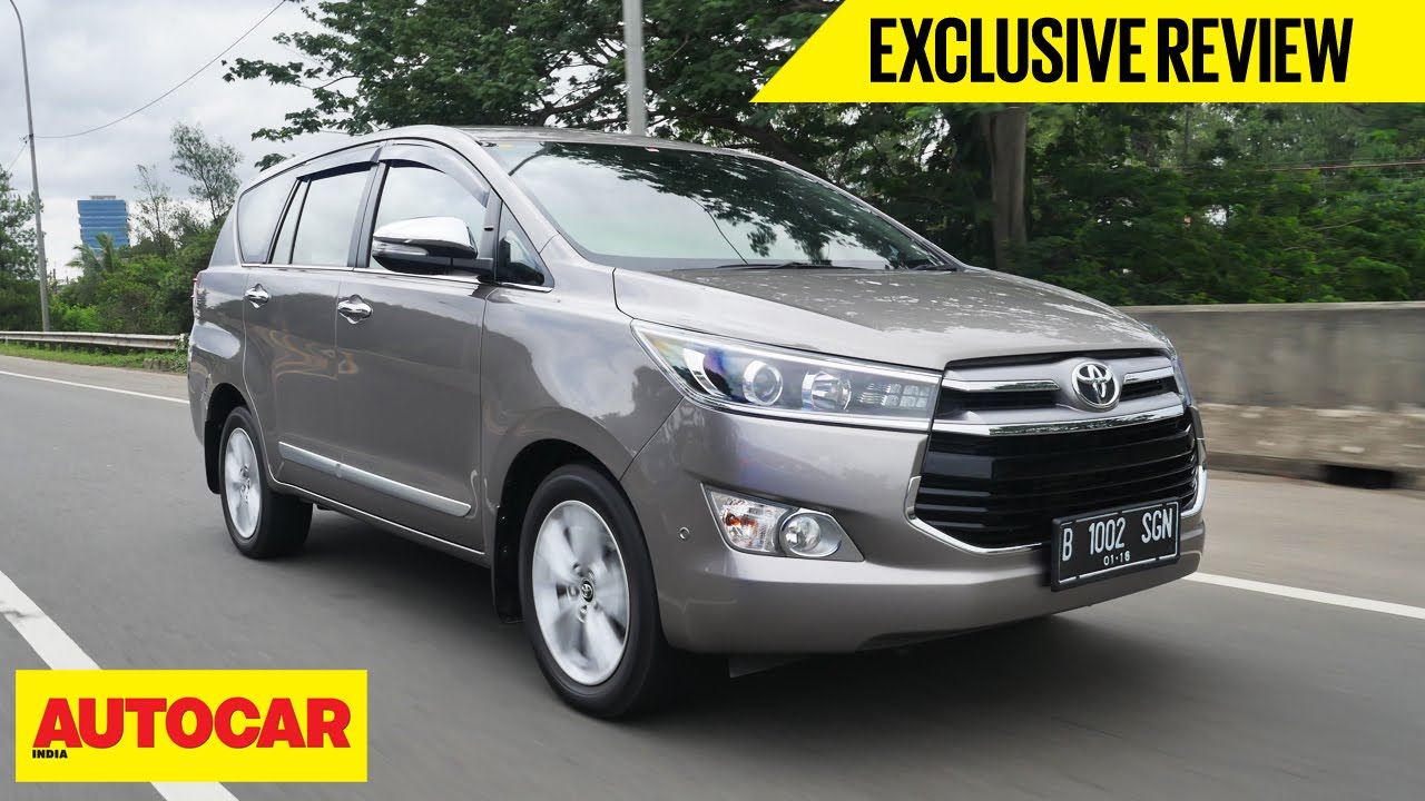 Toyota Innova Exclusive First Drive Autocar India