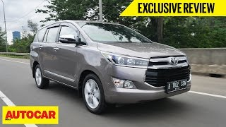 Toyota Innova | Exclusive First Drive | Autocar India