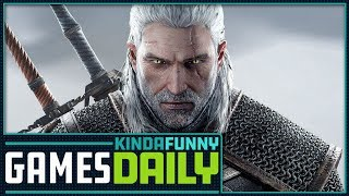 Witcher 3 x Monster Hunter World - Kinda Funny Games Daily 12.10.18