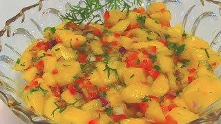 Betty's Colorful Mango Salsa