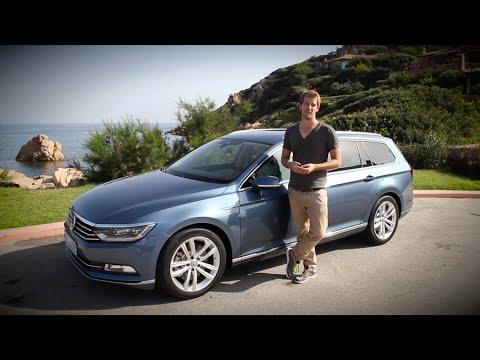 Volkswagen Vw Passat Test B8 2014 2 0 Tdi 240 Ps Deutsch