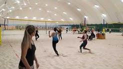 #Beachvolleyball. Queen of the court. Groupe B. 12.01.2020