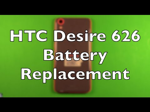 HTC Desire 626 Battery Replacement How To Change