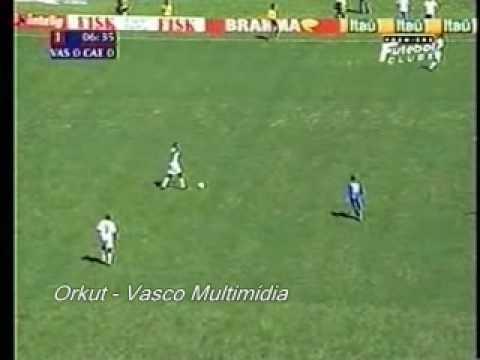Campeonato Brasileiro 2000 Final Vasco 3x1 Sao Caetano Jogo Completo Parte 1 Youtube