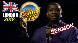Pastor EA Adeboye Sermon  RCCG London FESTIVAL OF LIFE 2019