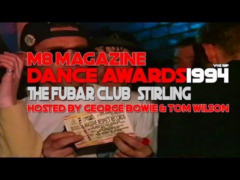 M8 Magazine Dance Awards The Fubar Club Stirling 1994 *VHS Rip*