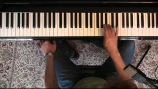 Jazz Piano College 201 There is no Greater Love - solo with blues scales