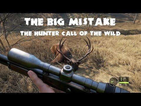 theHunter - Call of the wild - The big mistake