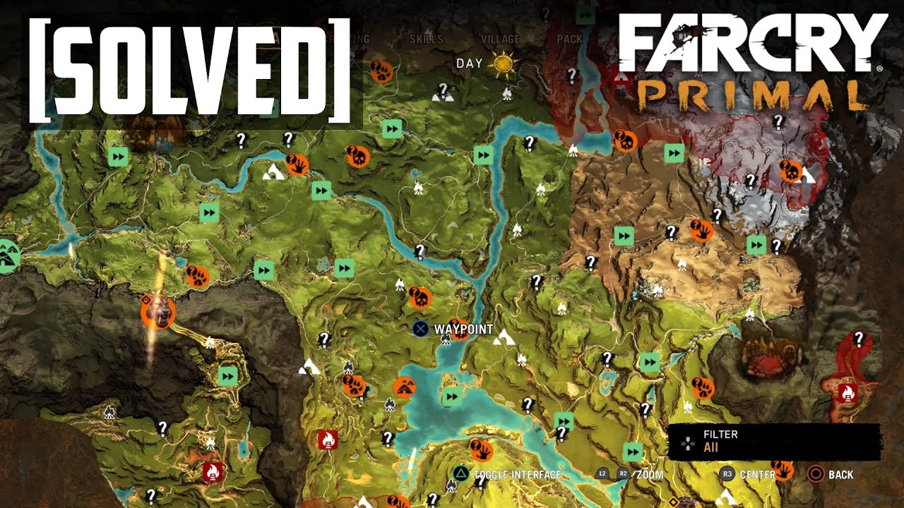 Far Cry Primal How Big Is The Map Solved Youtube