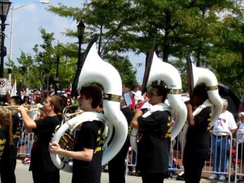 TPHS Marching Band September 11 Parade
