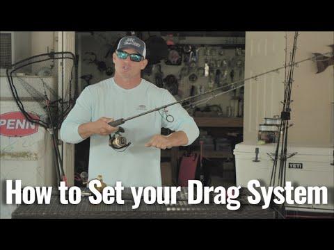 How To Set Drag On Fishing Reels | Captain Rush Explains