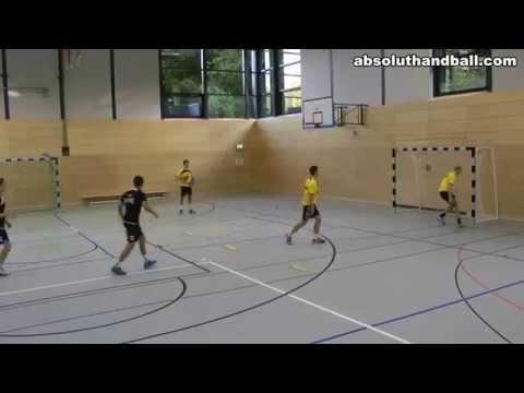 Balonmano: juego de calentamiento