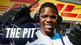 ASAP Ferg Learns How to Change a Tire in Two Seconds Flat | The Pit