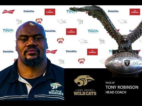 Desert Bowl Interviews - Abu Dhabi Wildcats