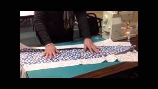 10-minute Table Runner Tutorial At Keepsake Cottage Fabrics