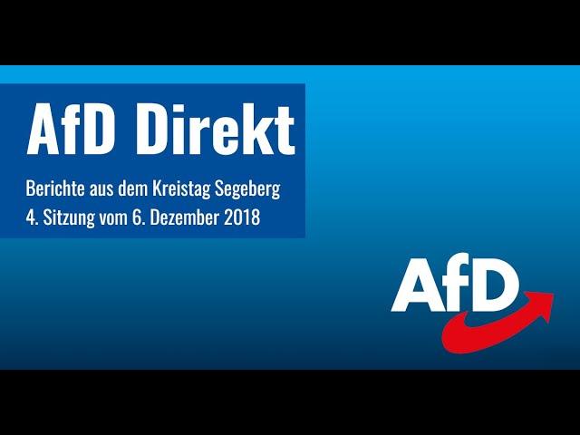 Kreistag Segeberg: Haushalt 2019 mit 9 Millionen € Nettoneuverschuldung