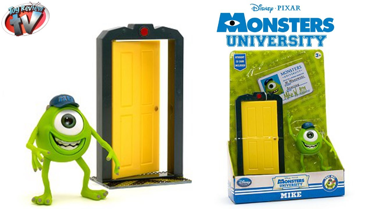 Monsters University Disney Store Mike Wazowski Action Figure Toy Review Youtube