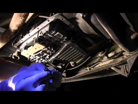 Replacing Solenoid Pack In E4OD Transmission - YouTube
