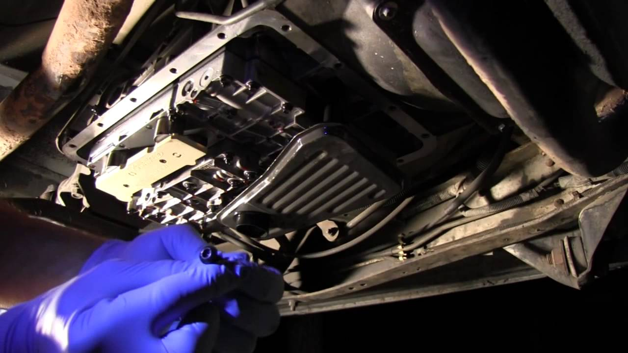 replacing solenoid pack in e4od transmission [ 1280 x 720 Pixel ]