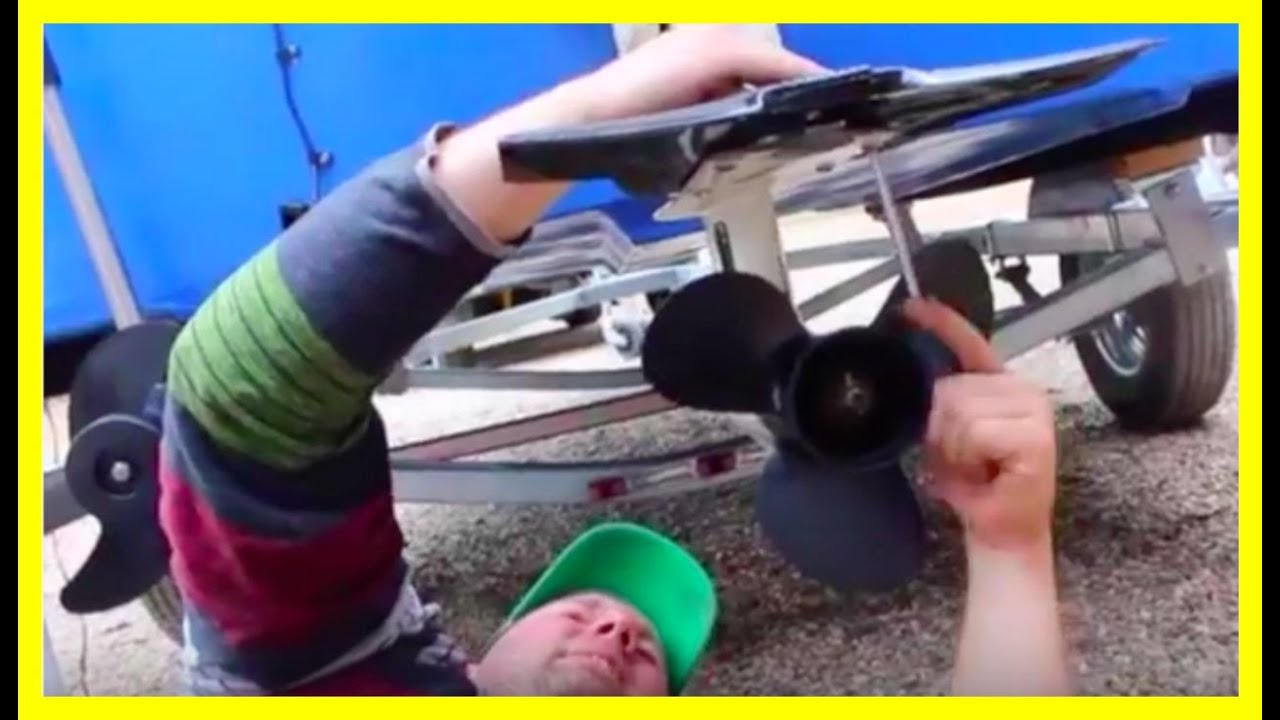 How To Install Stabilizer Fin On Outboard Motor Youtube