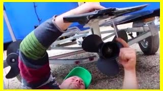 How to Install Stabilizer Fin on Outboard Motor