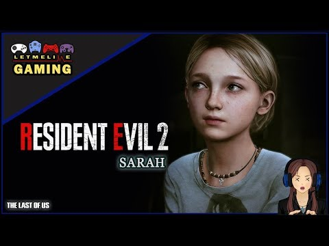 sarah-the-last-of-us-meets-bloaters-in-raccoon-city-|-resident-evil-2-remake-mod