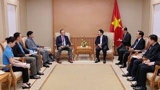 Phó Thủ tướng Phạm Bình Minh tiếp Tổng Thư ký Mạng lưới lao động châu Á - Thái Bình Dương