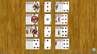 Beleaguered Castle Solitaire - How to Play
