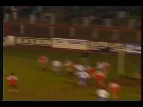 Ballymena United v Linfield Irish Cup Semi Final 1989