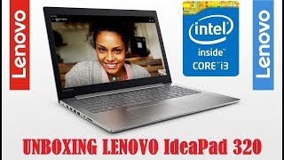 Lenovo Ideapad 320 Core i3 6th Gen | Win 10-Black Unboxing