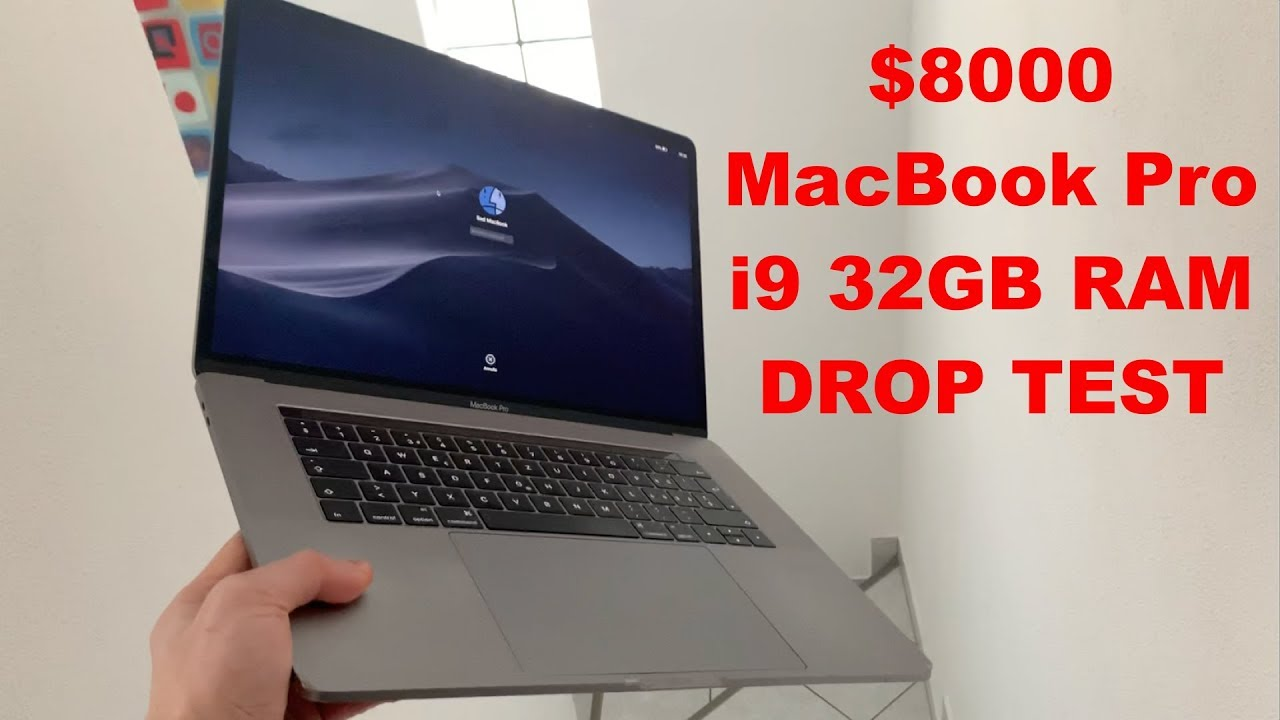 😵💰 $8000 2018 i9 32GB MACBOOK PRO DESTRUCTION 😱🤑