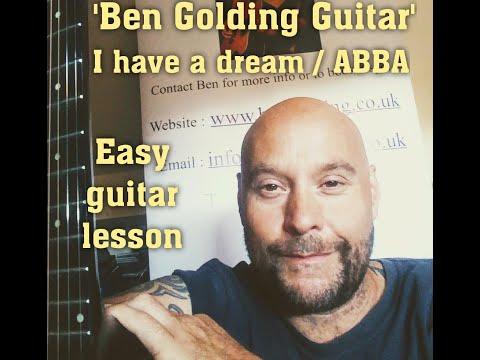 ABBA 'I Have A Dream' Easy Guitar Lesson