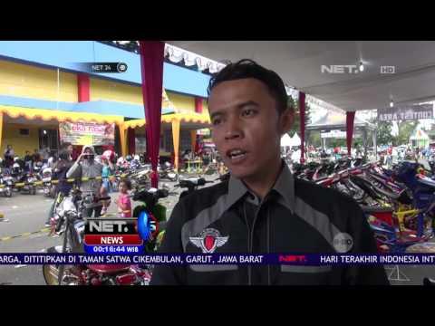 Unik dan Cantiknya Motor Custom Ikuti Kontes di Purwokerto - NET24