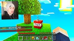 Skyblock aber es spawnt zufällig TNT (VERZWEIFLUNG)
