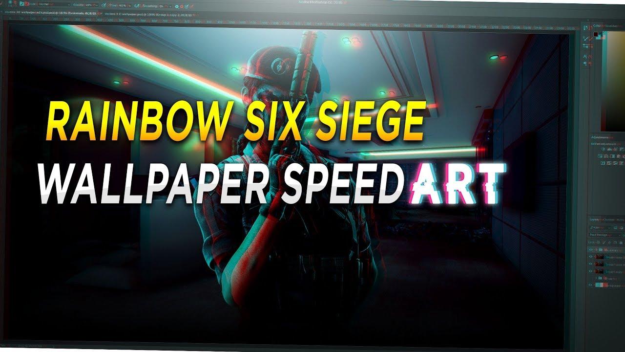 Rainbow Six Siege Caveira Wallpaper Speed Art Youtube