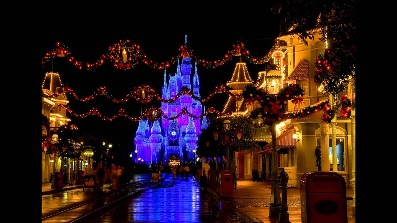 disneyland main street usa christmas music youtube - Disney Christmas Music