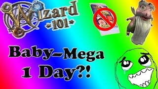Unlimited Energy?! | Wizard101: How to get a Pet to Mega in a day! (w/out Mega Snacks)