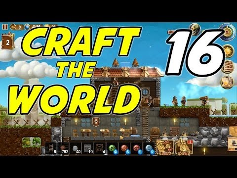 Craft the World | E16 | Farming and Milling!
