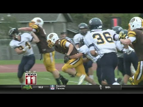 North Dakota HS Football Highlights and Scores From 9/18