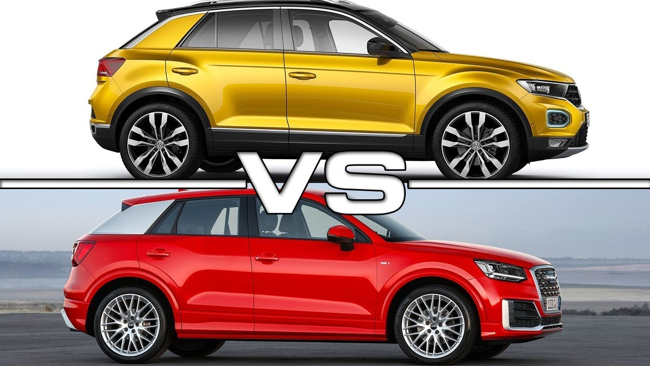 Tucson Dimensions 2017 >> 2018 Volkswagen T-Roc vs 2017 Audi Q2 - YouTube