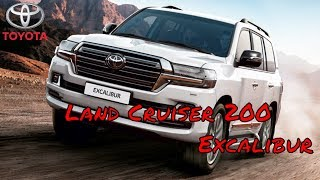 Обзор Toyota Land Cruiser 200 Excalibur | Тест драйв Тойота Ленд Крузер 200 Экскалибур.