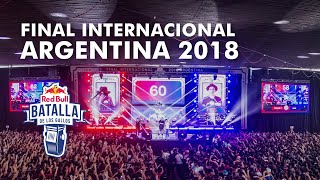 Final Internacional 2018 | Red Bull Batalla de los Gallos thumbnail