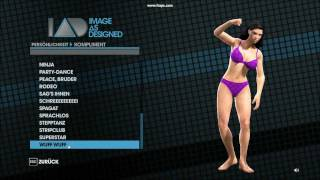 Saints Row 3 - Character Creation - outfits&emotes